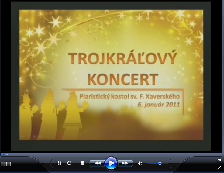 Trojkráľový koncert 2011 v Trenčíne