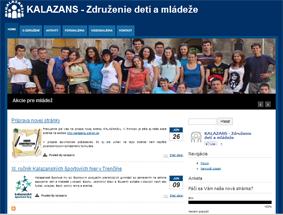Nová webová stránka KALAZANSu