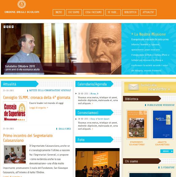 Nová medzinárodná oficiálna webstránka našej rehole