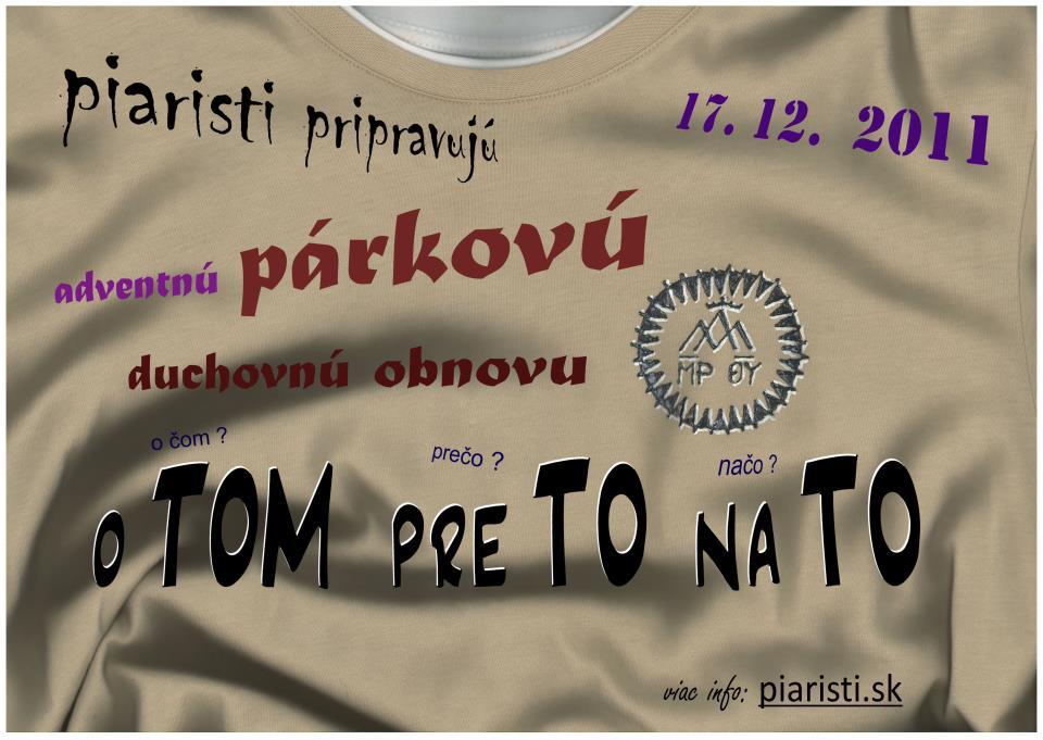 "POZVÁNKA – Adventná (""párková"") obnova"