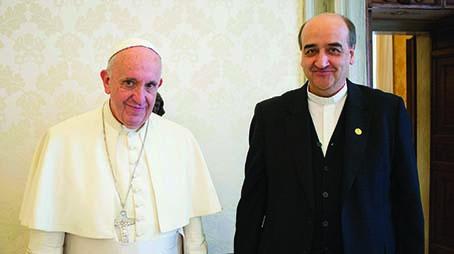 Pápežova audiencia pátra Generála