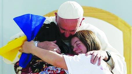 Pápež František navštívil Mexiko