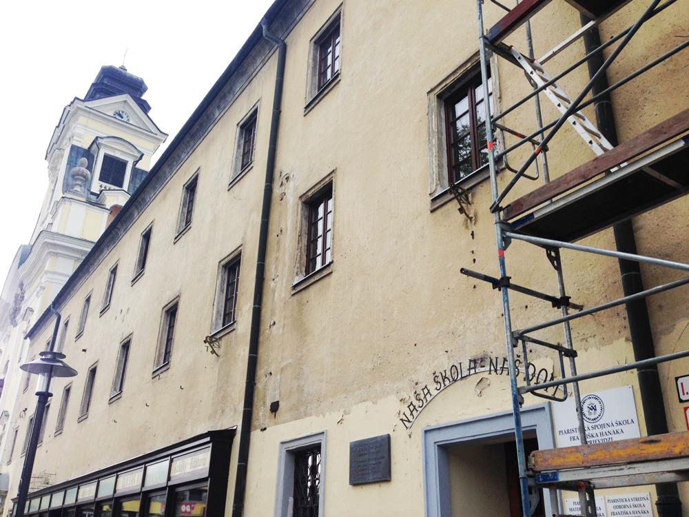 Zverejnenie zmluvy – Obnova severnej fasády Kolégia piaristov