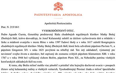 Apoštolská Penitenciatúra