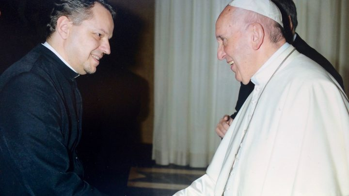 Páter provinciál sa na stretnutí provinciálov stretol s pápežom Františkom
